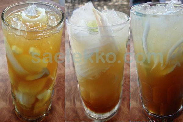 Resep minuman es kelapa muda sisiran gula merah segar nikmat. Resep minuman segar kali ini yakni cara membuat es kelapa muda dengan taburan gula merah sisir  yang segar and nikmat - Resep Masakan Indonesia - Indonesian Cake Recipes - Indonesian food