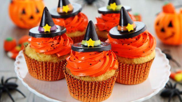 Dolci vegani alla zucca e alle mandorle per Halloween