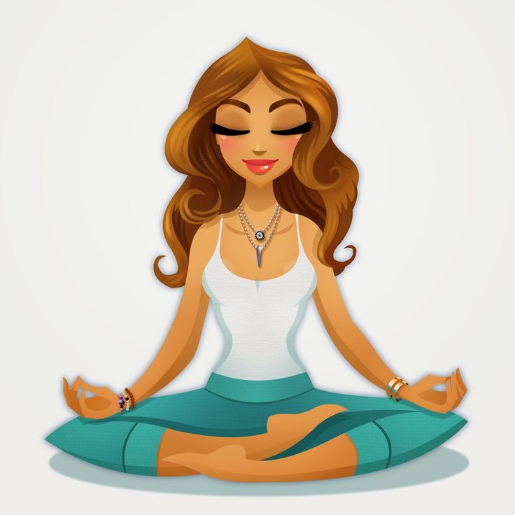 Pinup Of Christina In A Zen Yoga Pose Pinup Caricatures Pinterest