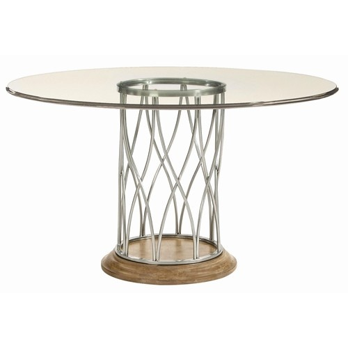 Monterey Round Dining Table By Bernhardt   Baeru0027s Furniture   Kitchen Table  Miami, Ft. Glass Top ...