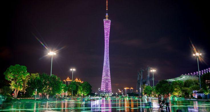 China: Die schönsten Städte bei Nacht - Guangzhou   © CC Jo.Sau via Flickr