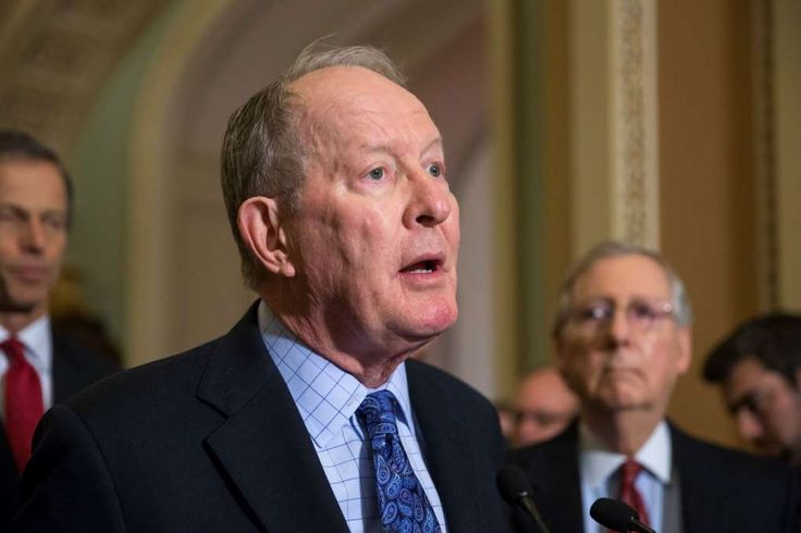Five senators to watch in healthcare fight  -  May 7, 2017:      Sen. Lamar Alexander (R-Tenn.)   -  Image:     Sen. Lamar Alexander, R-Tenn., chairman of the Senate Health, Education, Labor, and Pensions Committee, is joined by Senate Majority Leader Mitch McConnell, R-Ky., right, as he speaks to reporters