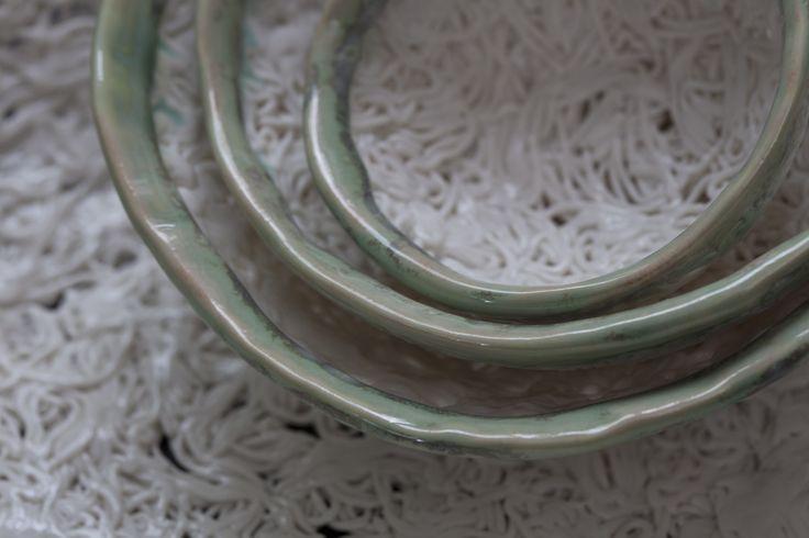 Rope-serien lavet i porcelænsler.