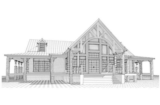 House Plan Description This 3360 Square Feet French Style