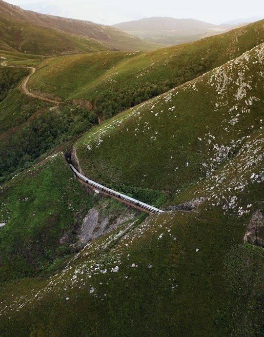 Rovos Rail: Montague Pass, South Africa