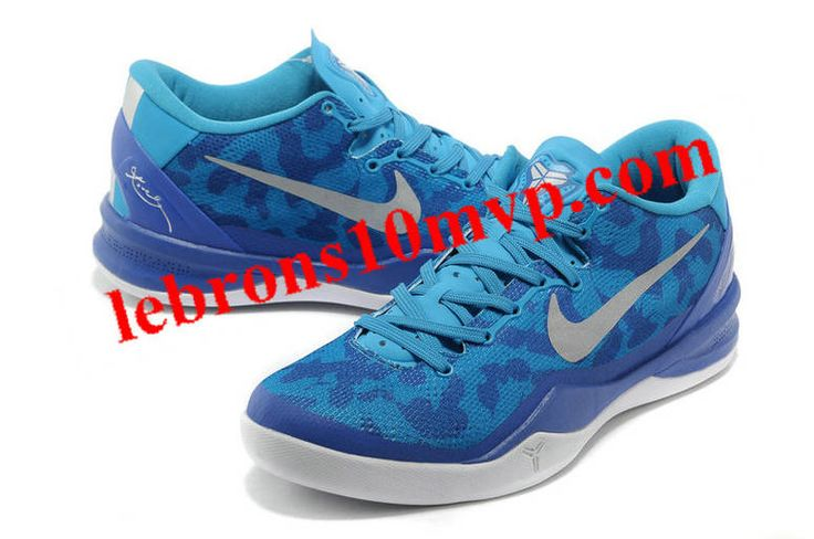 Nike Kobe 8 System Basketball Shoe Snake Blue/White, cheap Nike Zoom Kobe  VIII, If you want to look Nike Kobe 8 System Basketball Shoe Snake Blue/ White, ...
