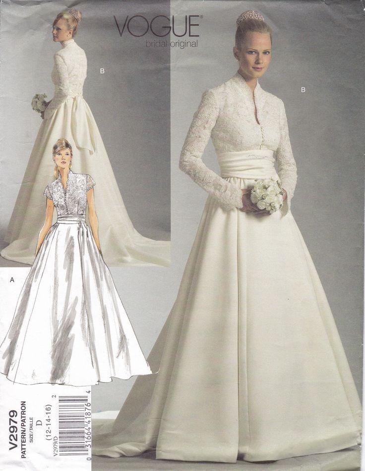 150 besten Wedding Sewing Patterns Bilder auf Pinterest ...