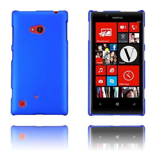 Hard Shell (Blå) Nokia Lumia 720 Etui