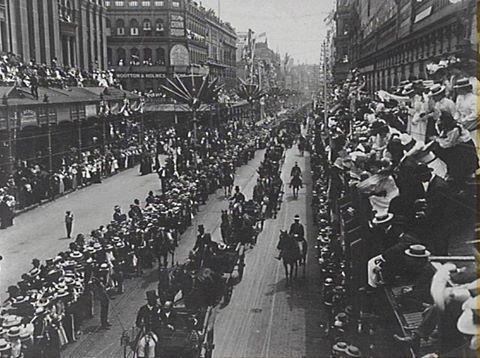 1st Jan 1901... Federation  Day , Sydney
