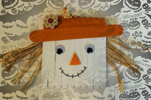 Поделки на Хэллоуин своими руками для детей - это отличная возможность заняться творчеством. Мастер класс симпатичной поделки и как украсить ею свой дом.  #хэллоуин #мастер_класс #дети