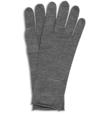 Acne Nils Fine-Knit Wool Gloves   MR PORTER