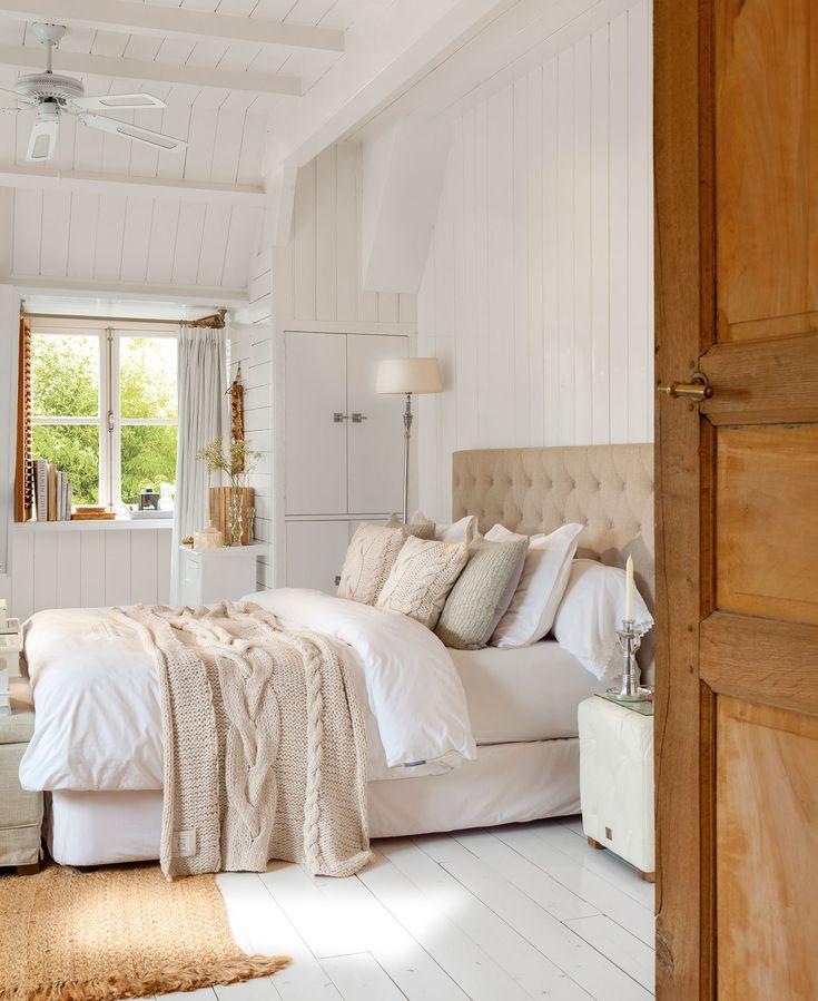 Un dormitorio para ser más feliz y descansar mejor https://patriciaalberca.blogspot.com.es/