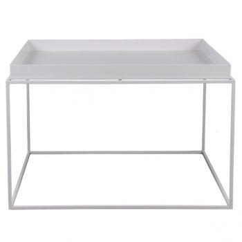 Tarjotinpöytä iso, valkoinen