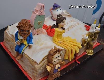 64 best Disneys cake images on Pinterest Beauty and the beast