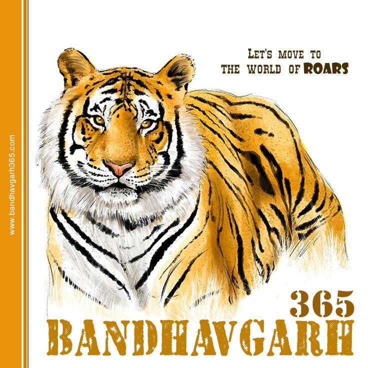 Spend a Day Meeting the Pride of Jungle at #Bandhavgarh Book: www.bandhavgarh365.com #JungleSafariinIndia #IndianJungleSafari #SafariTours