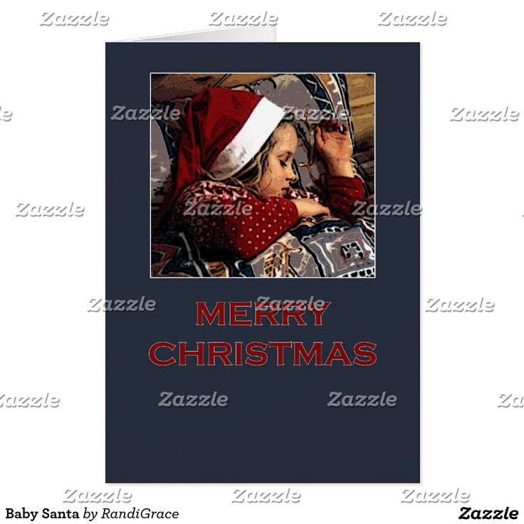 Baby Santa Greeting Card
