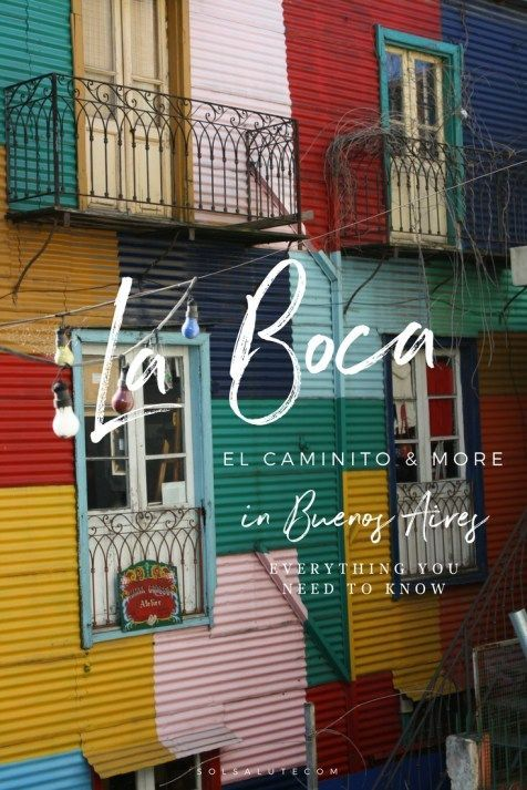 Complete Guide on what to do in La Boca in Buenos Aires, El Caminito, museums and Street Art #buenosaires #argentina