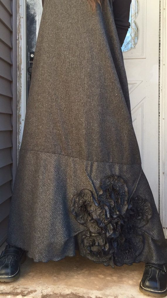 Hey, I found this really awesome Etsy listing at https://www.etsy.com/listing/217194068/wool-gray-stripe-flannel-long-bias