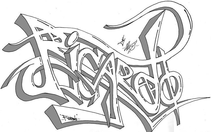 nombre graffiti :)
