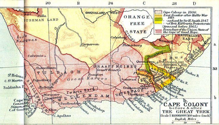 British colonisation in Africa DIE GROOT TREK