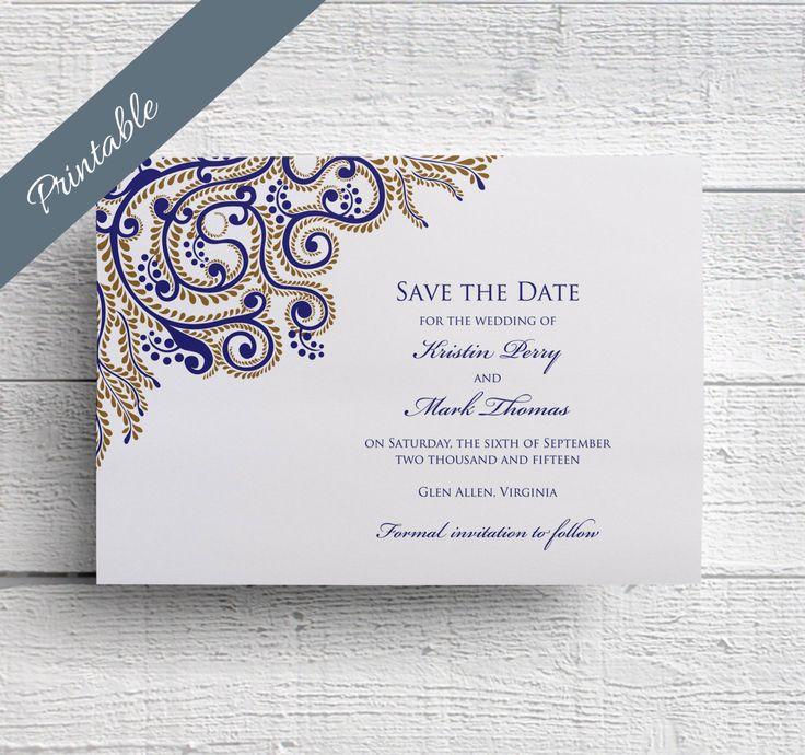 Indian Wedding Save the Date by EdenWeddingStudio on Etsy…
