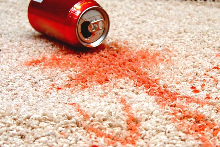 How to remove soft drink stains off your carpet
