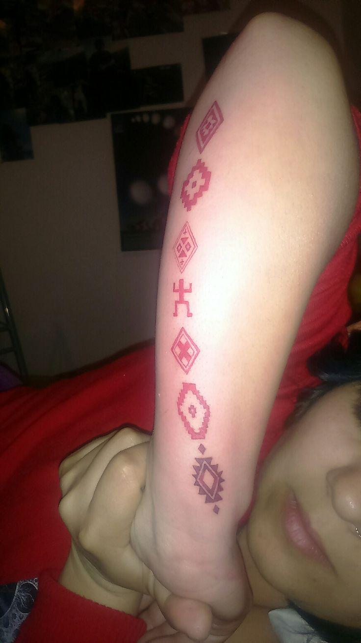Mapuche tattoo