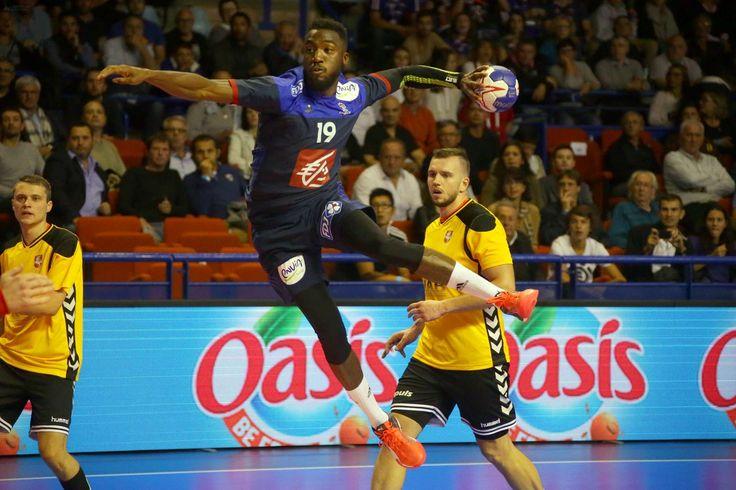 Handball : revivez le match France - Lituanie (37-20) à Pau en photos