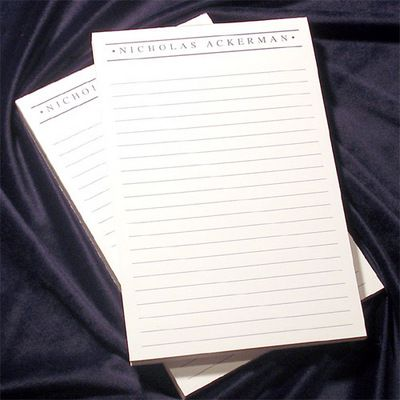 Lined Notepad Collection
