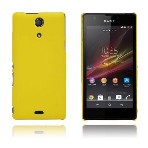 Smooth (Keltainen) Sony Xperia ZR Suojakuori