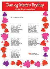 Personlige festsange og færdige købesange til alle festlige lejligheder