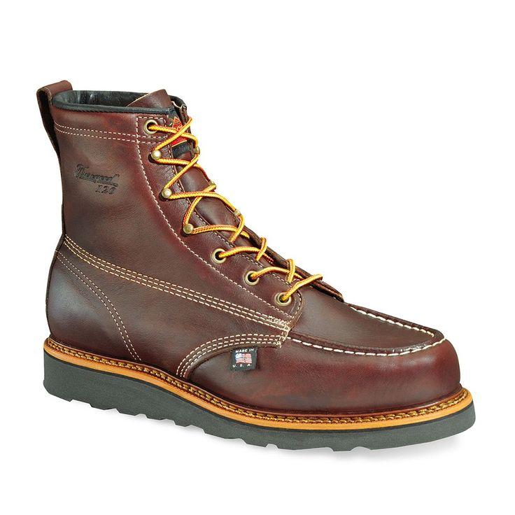 Thorogood American Heritage Men's Slip-Resistant Work Boots, Size: 11.5 Med D, Dark Brown