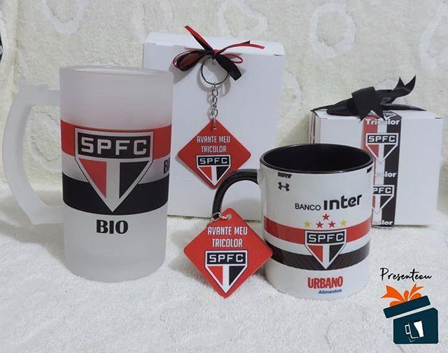 Presentes personalizados para surpreender aquele torcedor do São Paulo você  encontra conosco. Encomende o seu a905da2828aea