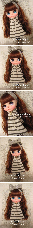 *カスタムブライス*Custom Blythe*Je flne dans la fort - ヤフオク!
