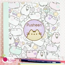 Pusheen Coloring Book - Livre de Coloriage