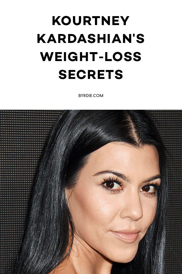 Kourtney Kardashian's secret weight-loss tips