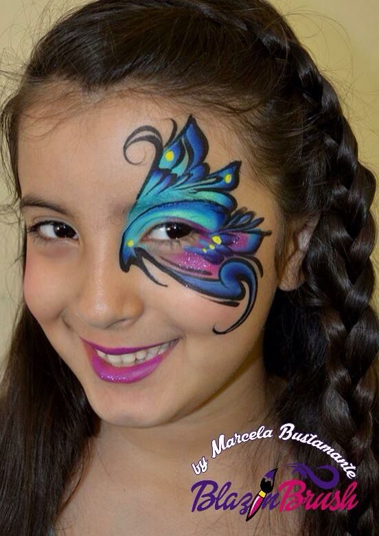 Best Face Paint Quick Eye Designs