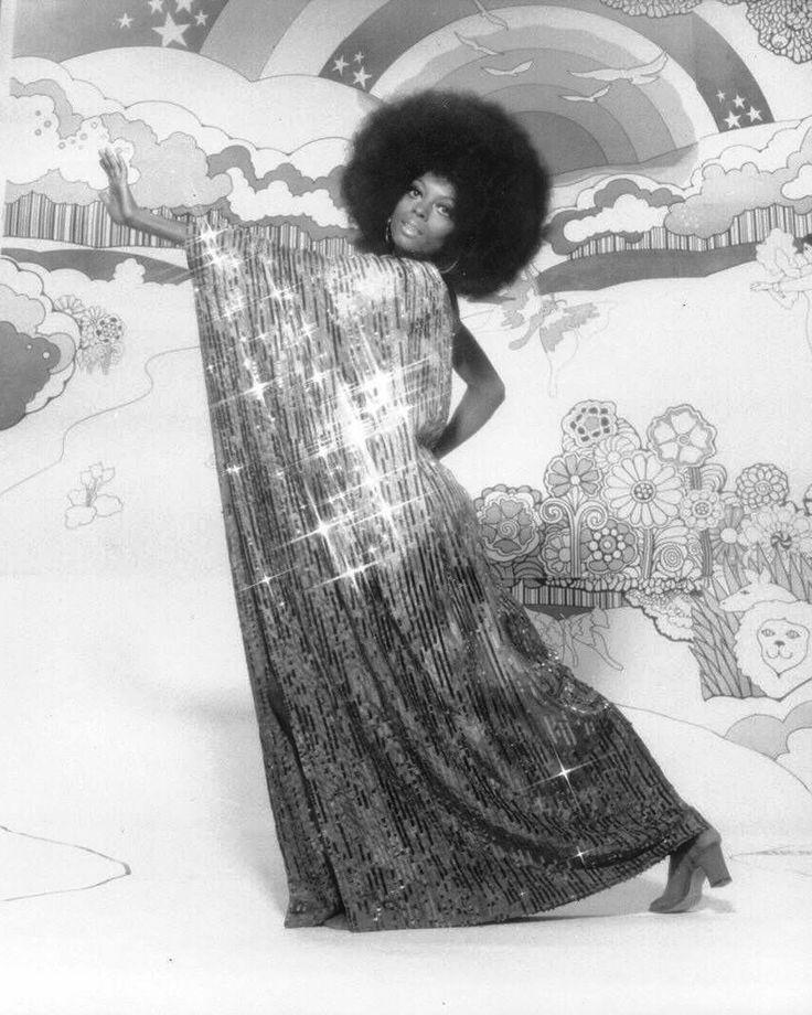 Diana Ross by Harry Langdon, 1975