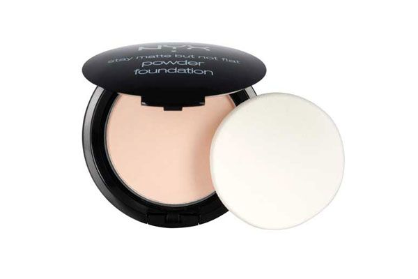 Nyx Stay Matte But Not Flat Powder Foundation Shade Finder These Long Wearing Foundations Won T Wear Off When It S Hot As Balls Outside Powder Foundation Nyx Cosmetics No Foundation Makeup
