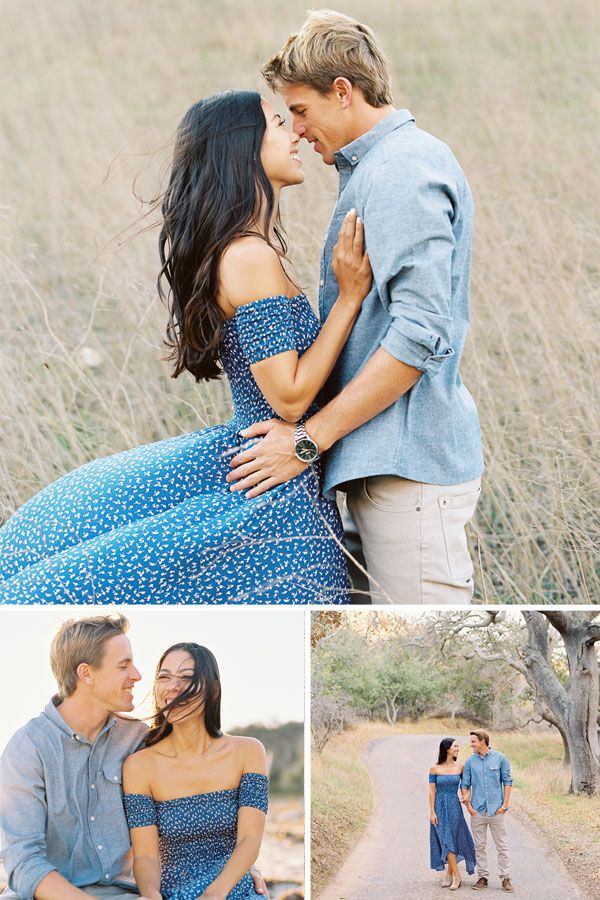 What a dream to get to shoot this gorgeous Hollister Ranch Engagement Session in Santa Barbara County. The ranch stretches 14,400 acres along the Pacific coast of California between Gaviota State Park and Point Conception. And it's a completely magical place. Morgan + Clayton made my job a cinch, looking stellar and being totally in love.