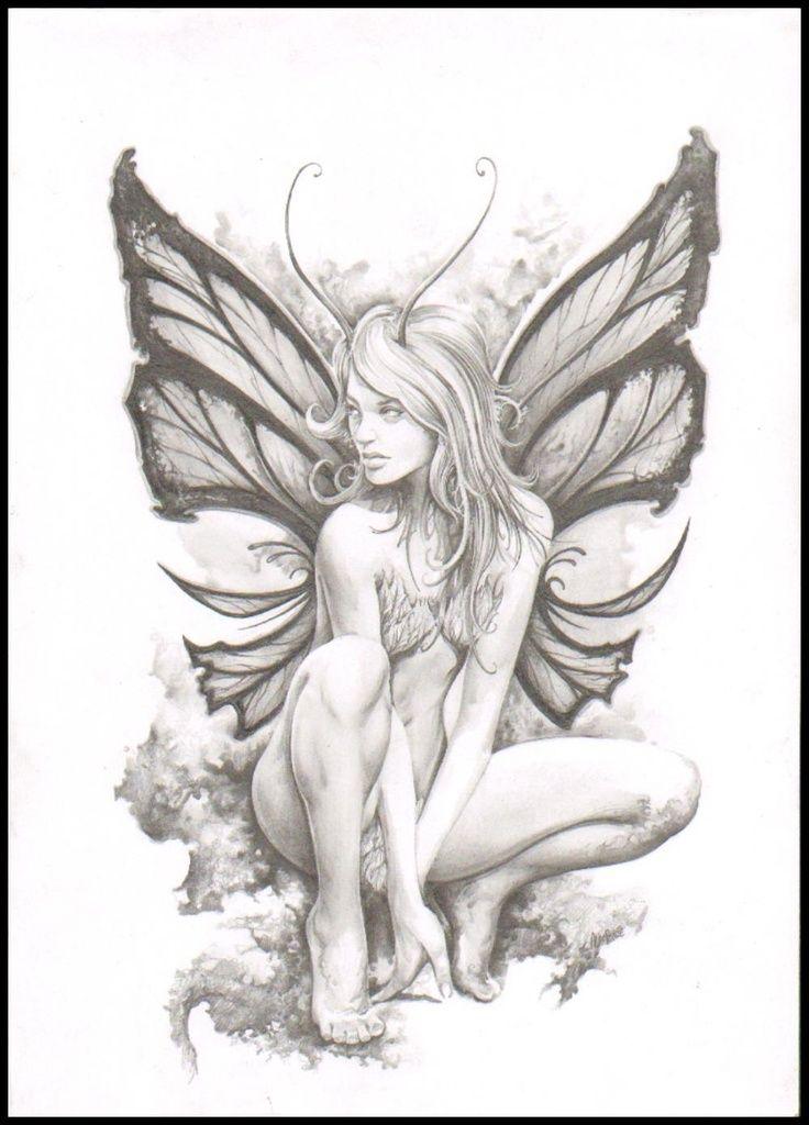 Nude fairy tattoo Nude Photos 47