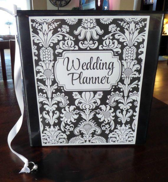 Custom DELUXE Wedding Planner & Organizer by OrganizedBride