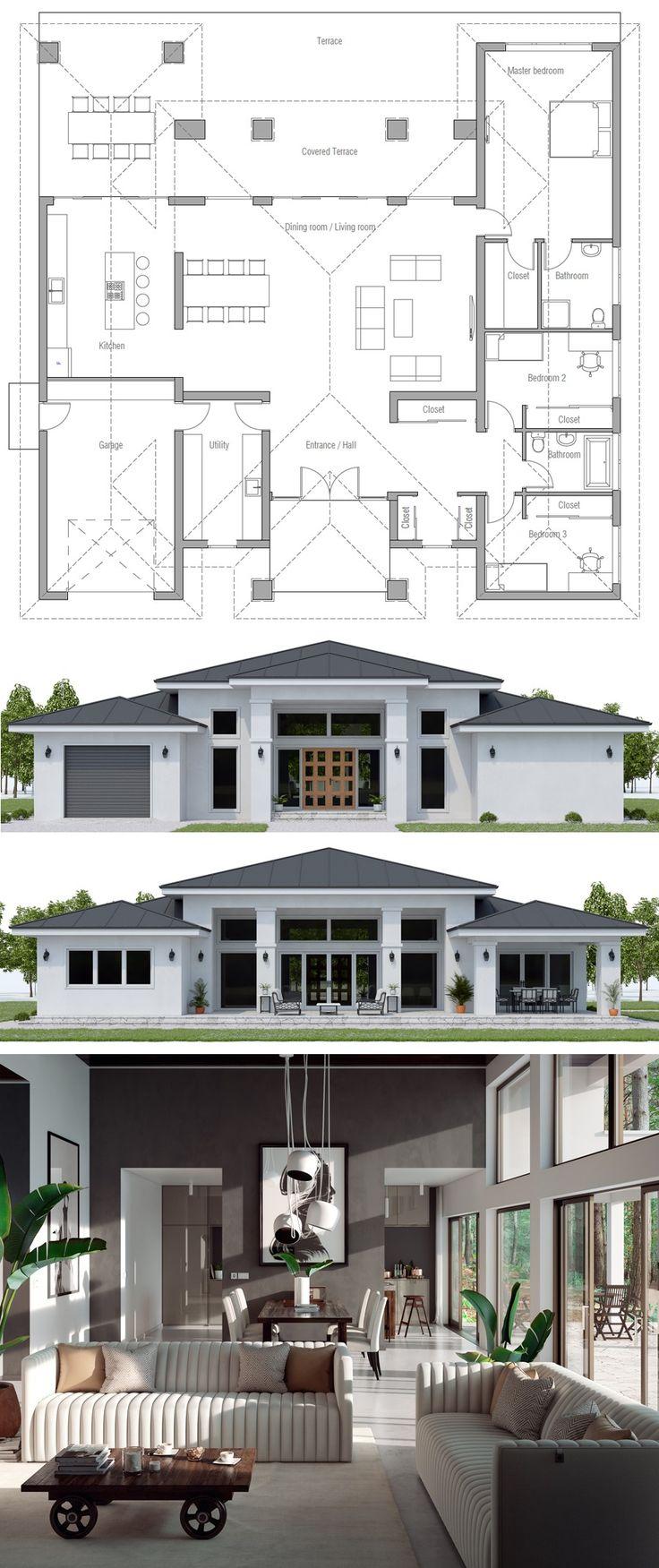 Floor Plans, New Homes, Floor Plan #floorplans #ne…