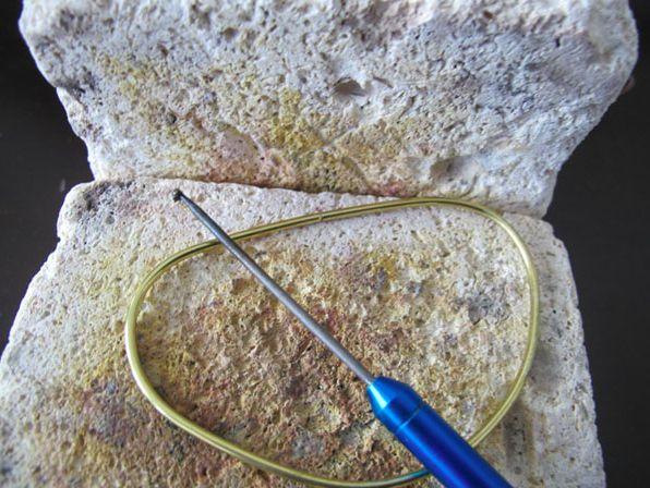 Heating Wire for Jewelry Making on Kiln Bricks - Realizzare un bracciale con una microtorcia