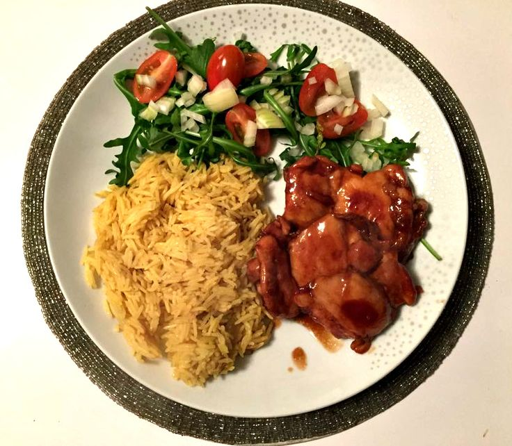 Slimming World sticky chicken - a delicious and healthy meal, perfect for mid-week family dinners.