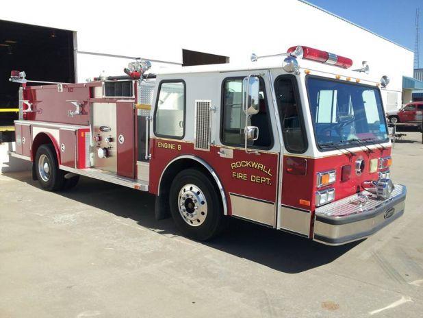 Used E-One pumper for sale at Firetrucks Unlimited. #firetrucksforsale