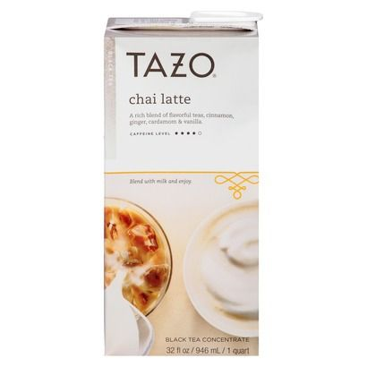 Tazo Chai Tea Latte, Found in Target, also love the decaf and chocolate. Do mix with milk.