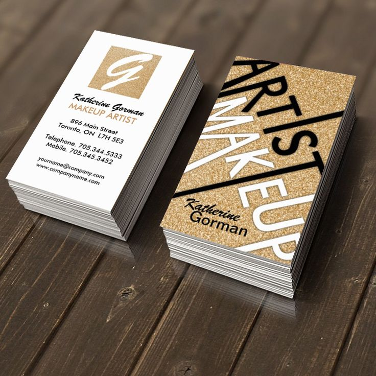 makeup artist business cards -#main