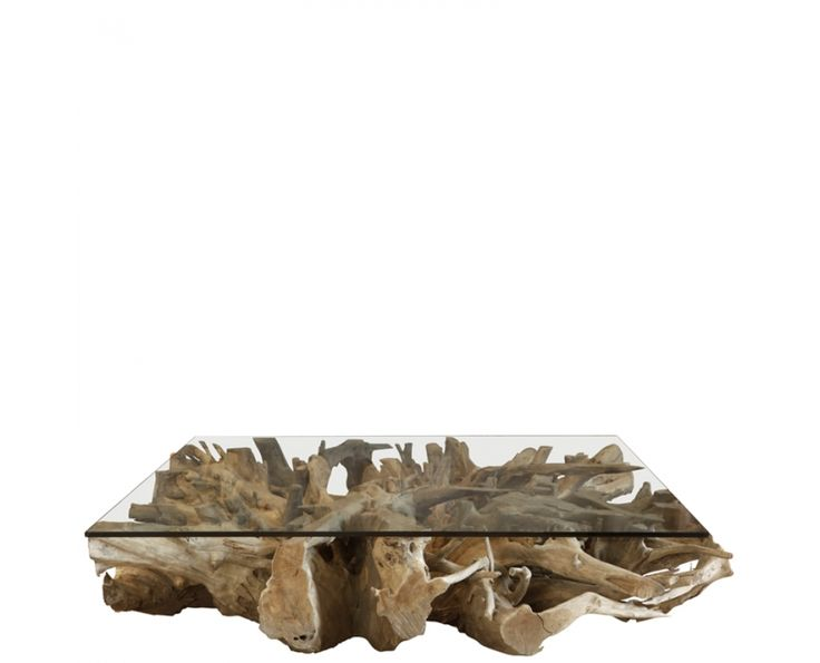 Teak Root Square Coffee Table - Furniture | Weylandts South Africa