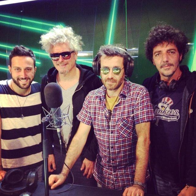 Daniele #Silvestri Nicolò #Fabi e Max #Gazzè ospiti a Radio Norba